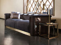 living-73 RADETZKY SOFA & THEO COFFEE TABLE & SKINNY TABLE LAMP