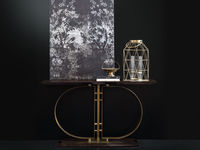 living-71 MONOGRAM CONSOLE TABLE