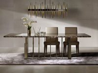 pranzo-38 ASTON TABLE & SOFIA CHAIR & FISH CHANDELIER