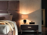 notte-2 FLORENCE BED & DANTE NIGHTSTAND & RINDO NIGHT LAMP