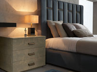 notte-11 PABLO BED & LOFT NIGHTSTAND & PLINTO NIGHT LAMP